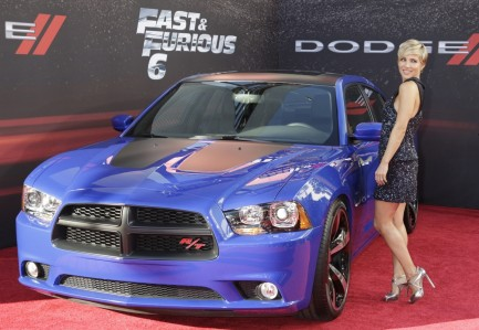 Cast Member Elsa Pataky Poses At The Premiere Of The New Film Fast Furious