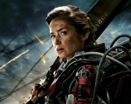 Edge Of Tomorrow Emily Blunt Hair Wallpaper Body