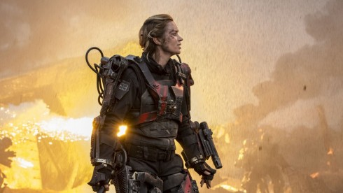 Edge Of Tomorrow Rita Emily Blunt Wallpaper
