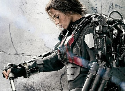 Emily Blunt As Rita Vrataski In Edge Of Tomorrow Wallpaper Emily Blunt