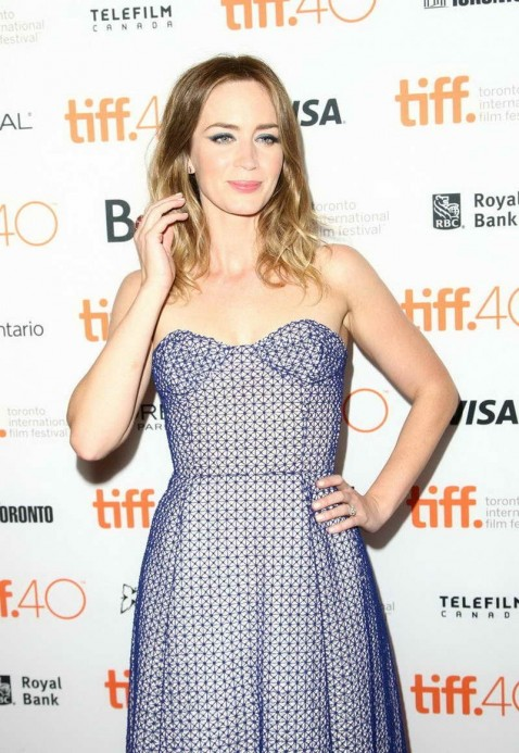 Emily Blunt At Sicario Premiere At The Toronto International Film Festival