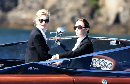 Emily Blunt Filming For The International Watch Company In Portofino Italy Fashion