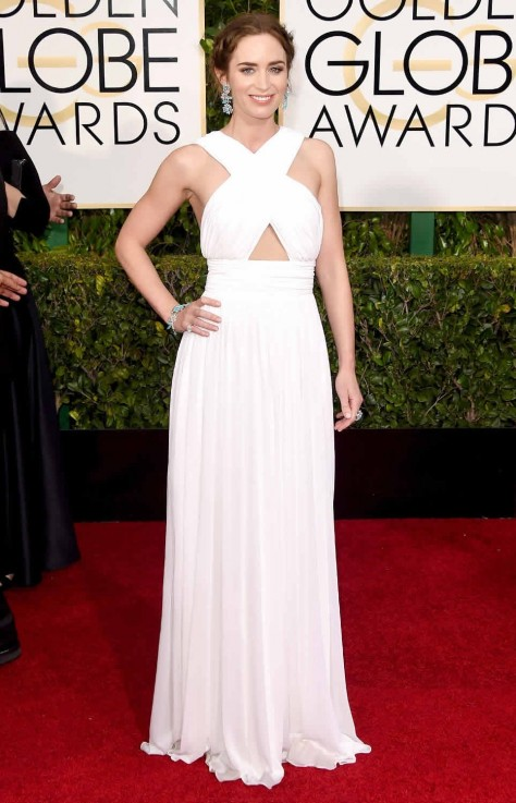 Emily Blunt Golden Globes Bestdressed
