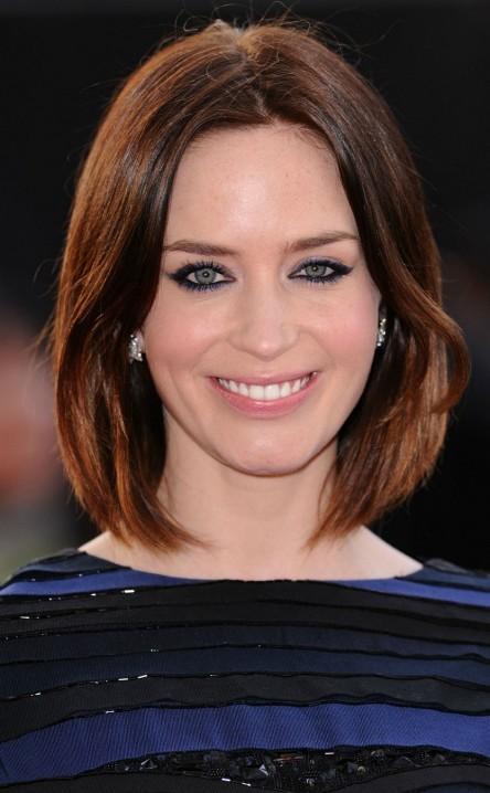 Emily Blunt Long Hairstyles In Emily Blunt