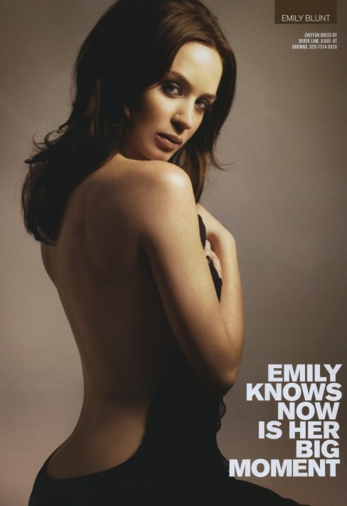 Iton Man Emily Blunt Emily Blunt