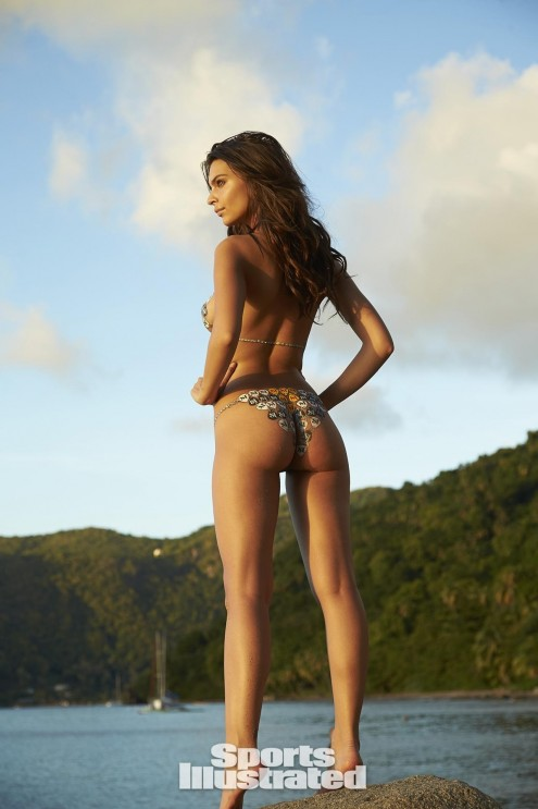 Emily Ratajkowski Bodypaint Sports Illustrated Itok Barxo Emily Ratajkowski