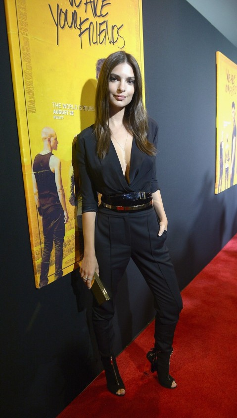 Emily Ratajkowski We Are Your Friends Screening In Miami