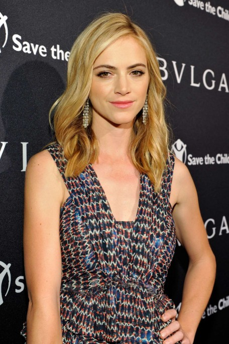 Emily Wickersham Pre Oscar Bvlgari And Save The Children Stop Think Give Event