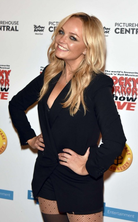 Emma Bunton Rocky Horror Show Live Aftershow Party In London