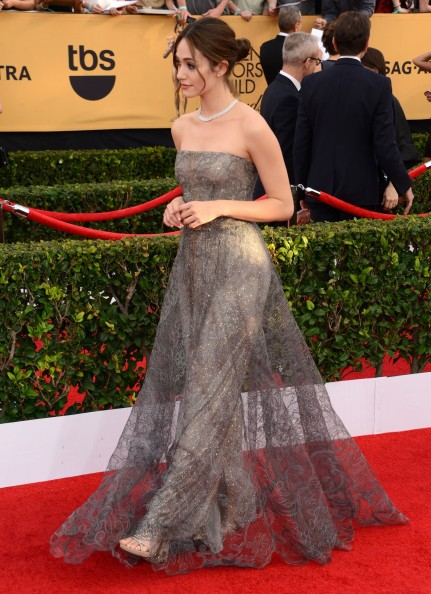 Emmy Rossum Tnts St Annual Screen Actors Guild Awards