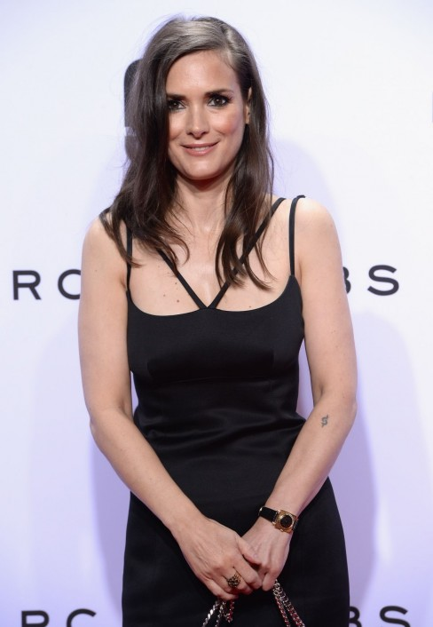 Winona Ryder Attends The Marc Jacobs Show At Spring Ny Fashion Week