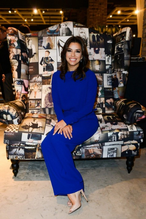 Eva Longoria Take Visit Marina Interiors Furniture Store Dubai
