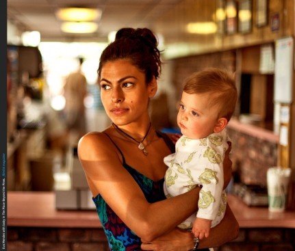 Eva Mendes Mother Holding Baby Place Beyond The Pines Baby