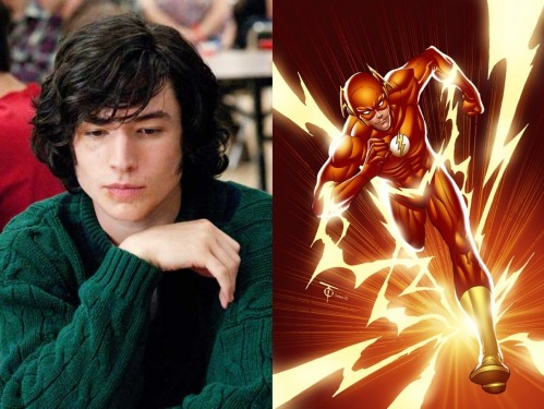 Flash Ezra Miller Tv