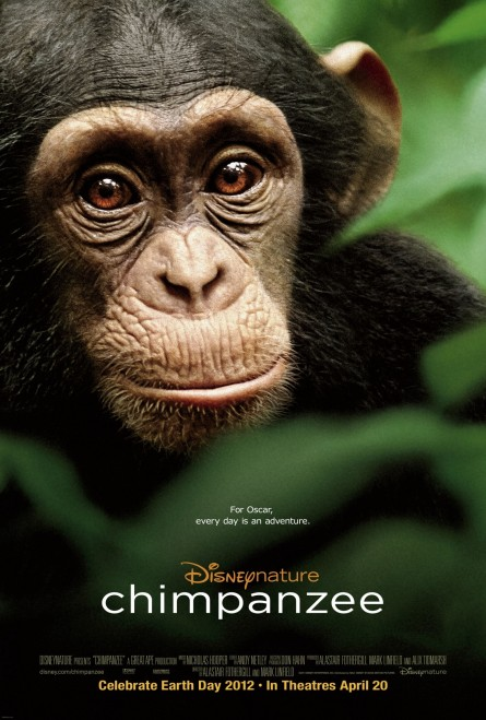 Chimpanzee One Sheet Famous Movie Covers