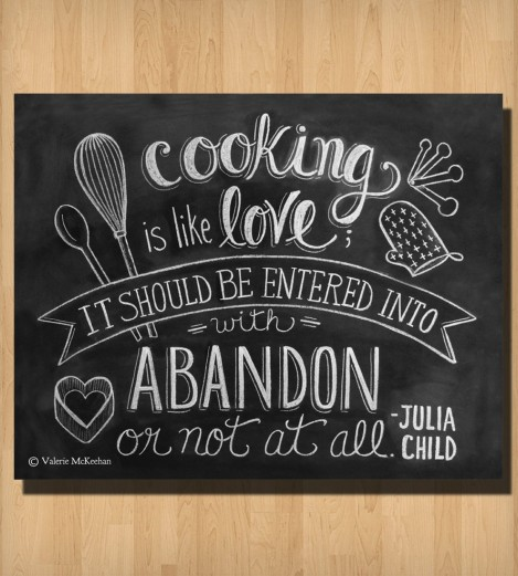 Cooking Is Like Love Julia New Famous Movie Quotes