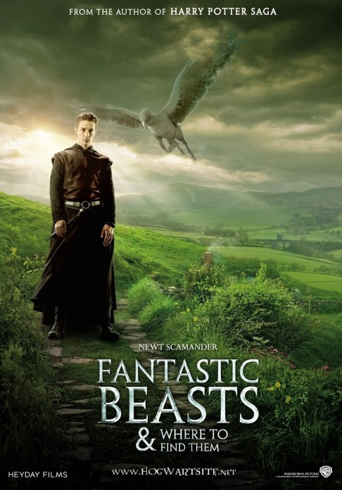 Fantastic Beasts And Where To Find Them Movie Posters Movie My Blog Fantastic Beasts And Where To Find Them