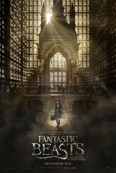 Fantastic Beasts And Where To Find Them Poster Fantastic Beasts And Where To Find Them