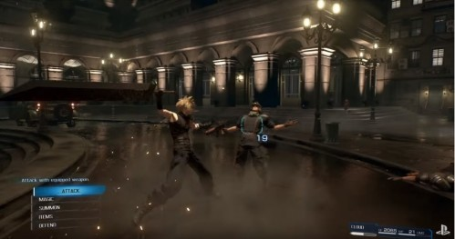 Sony Releases New Final Fantasy Vii Remake Gameplay Trailer Full