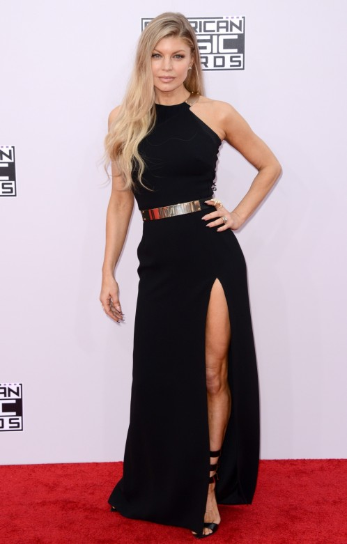 Stacy Ann Fergie Ferguson Attends American Music Awards In La