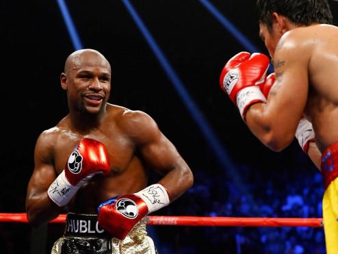 Floyd Mayweather Beats Manny Pacquiao In The Fight Of The Century