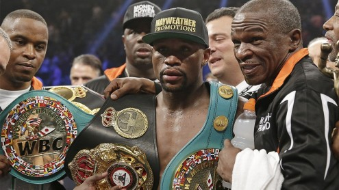 Floyd Mayweather To Be Strippled Of Title Belts