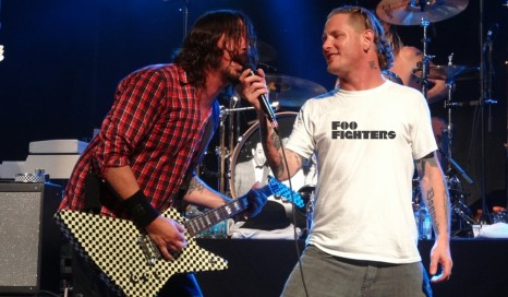 Foo Fighters Corey Taylor Vocalist New Singer Break Up Foo Fighters