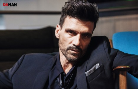 Frank Grillo Of Marvels Captain America Civil War In Blazer And Shirt By Burberry Tie By Kenneth Cole Pocket Square By Oharrow Clothiers Frank Grillo