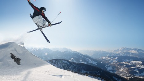 Freestyle Skiing Adventure Sports Wallpaper Freestyle Skiing