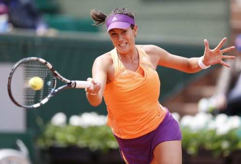 Garbine Muguruza Tennis Player Photos
