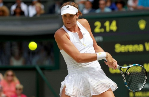 Wimbledon Ladies Singles Final Serena Williams Garbine Muguruza Sport