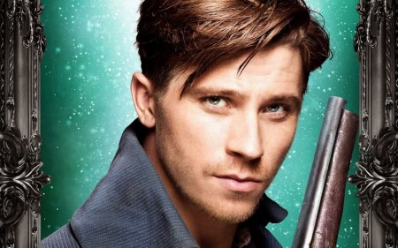 Garrett Hedlund As Hook In Pan Movie Wallpaper