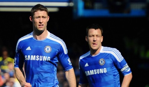 Whats Wrong With Chelsea Soccer Gary Cahill With John Terry Images Gary Cahill