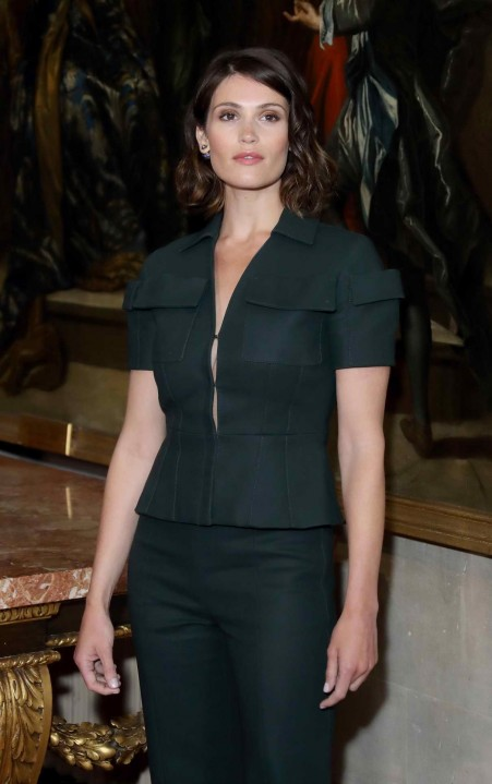 Gemma Arterton Attends Launch Of Dior Cruise Collection At Blenheim Palace In Oxfordshire Gemma Arterton
