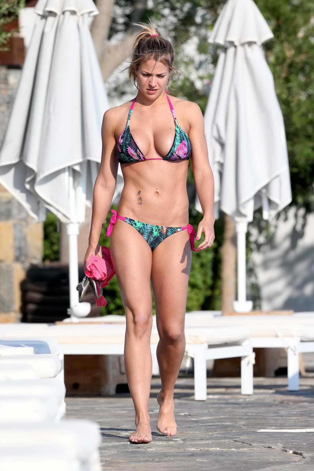 Gemma Atkinson In Bikini In Spain Gemma Atkinson