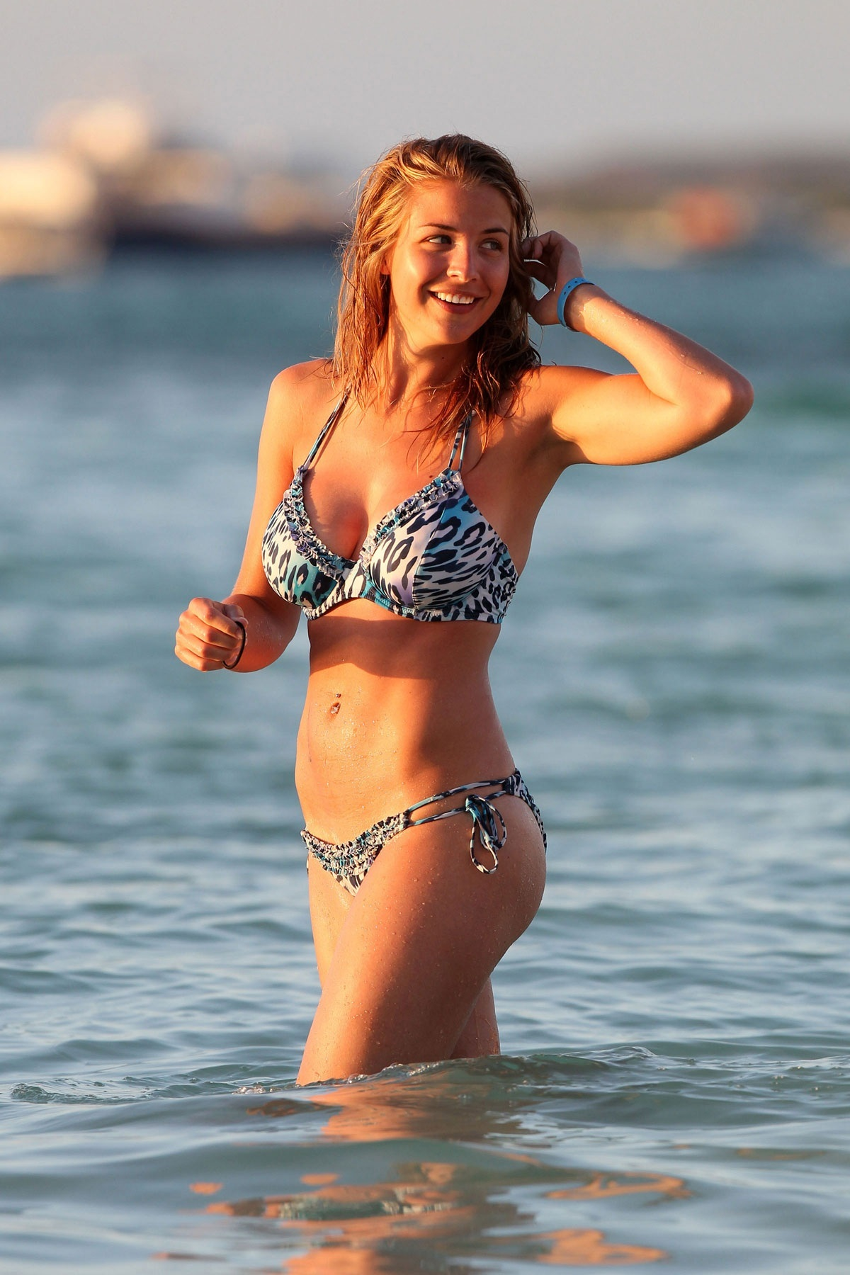 Gemma Atkinson In Bikini On Beach In Aruba Gemma Atkinson