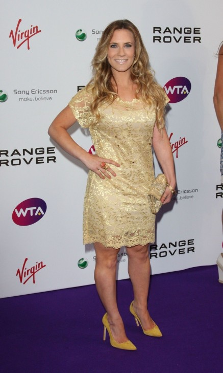 Georgie Thompson At Wta Tour Wimbledon Party Georgie Thompson