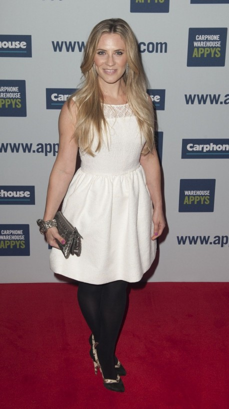 Georgie Thompson Carphone Warehouse Appys Th April Georgie Thompson