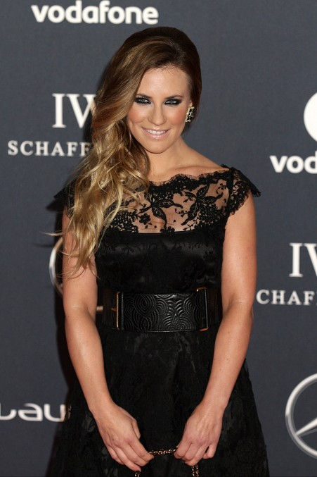 Georgie Thompson Laureus World Sports Awards Vettrinet Georgie Thompson