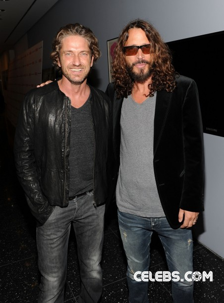 Gerard Butler Chris Cornell Young