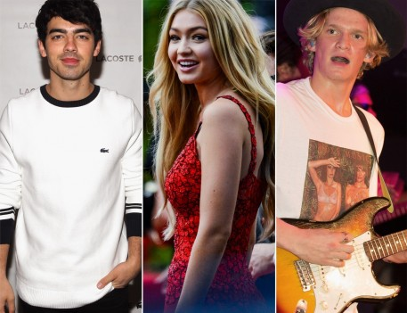 Joe Jonas Gigi Hadid Cody Simpson And Nick Jonas
