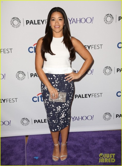 Gina Rodriguez Jane The Virgin Paleyfest Panel Gina Rodriguez