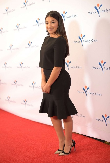 Gina Rodriguez Venice Family Clinics Silver Circle Gala In Beverly Hills