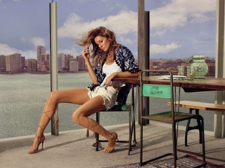 Gisele Bundchen Nino Munoz Photoshoot In Nyc For Colcci Spring Summer