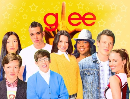 Glee Cast Logo Wallpaper Glee
