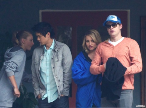 Glee Cast Out To Lunch Glee Cast Of