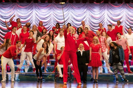 News Glee Finale Stage