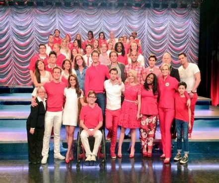 The Cast Of Glee For Its Final Season Season