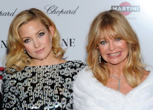 Kate Hudson And Goldie Hawn And Kate Hudson