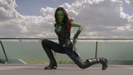 Mgid Uma Image Mtv Star Lord Gamora Rocket And Groot Which Guardians Of The Galaxy For Marvel Spin Off Gamora